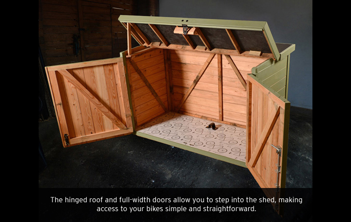 Building Plans For Lean To Sheds Bike Shed Design Plans